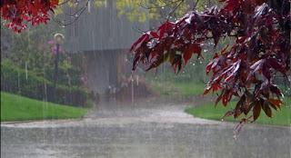 باران بارین دێ دەستپێکەن