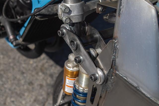Julian Farnam Dirtbag Rat Yamaha Banshee RZ350 Girder Fork FFE