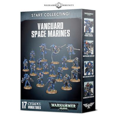 Start Collecting Marines de Vanguardia