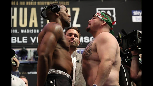 Anthony Joshua vs Andy Ruiz: Rematch confirmed after boxers signed contracts