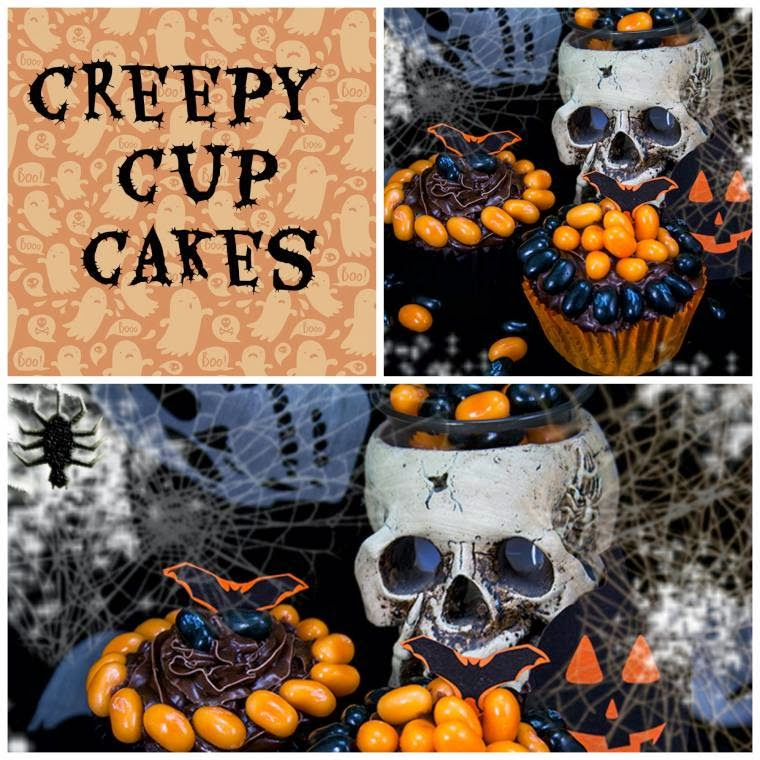 Creepy Halloween Cupcakes: Scare Your Party Guests
