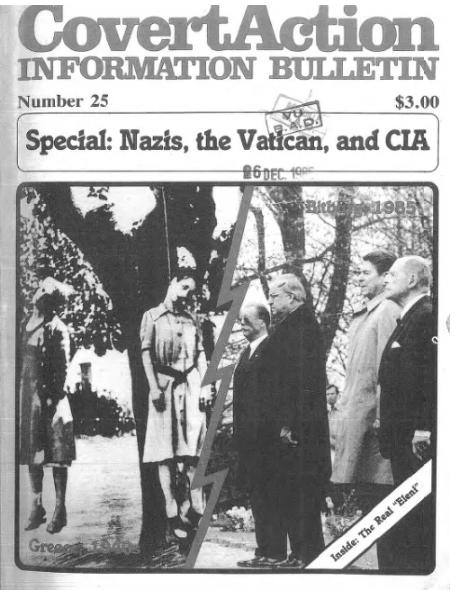 Bolivia Klaus Barbie coup Nazi CIA freemasonry paramilitary politics terrorism assassination police business corruption cocaine