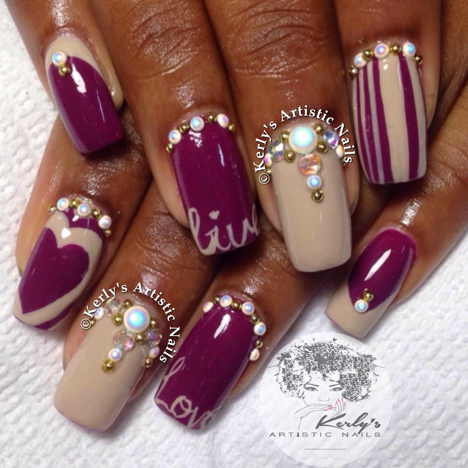 Encapsulated nail designs nail art gallery encapsulated nail art photos prinsesfo Choice Image