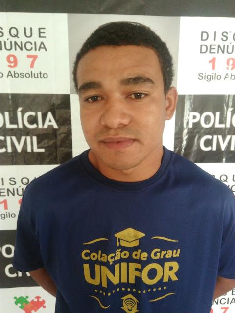 Acusado de homicídio no Ceará é preso pela polícia civil na região de Sousa