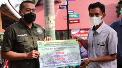Kelompok Tani Saiyo Sungai Alai Dapat Bantuan Alsintan