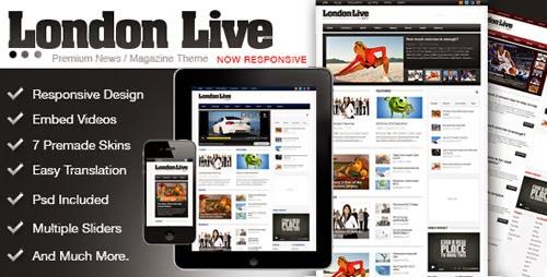london live theme