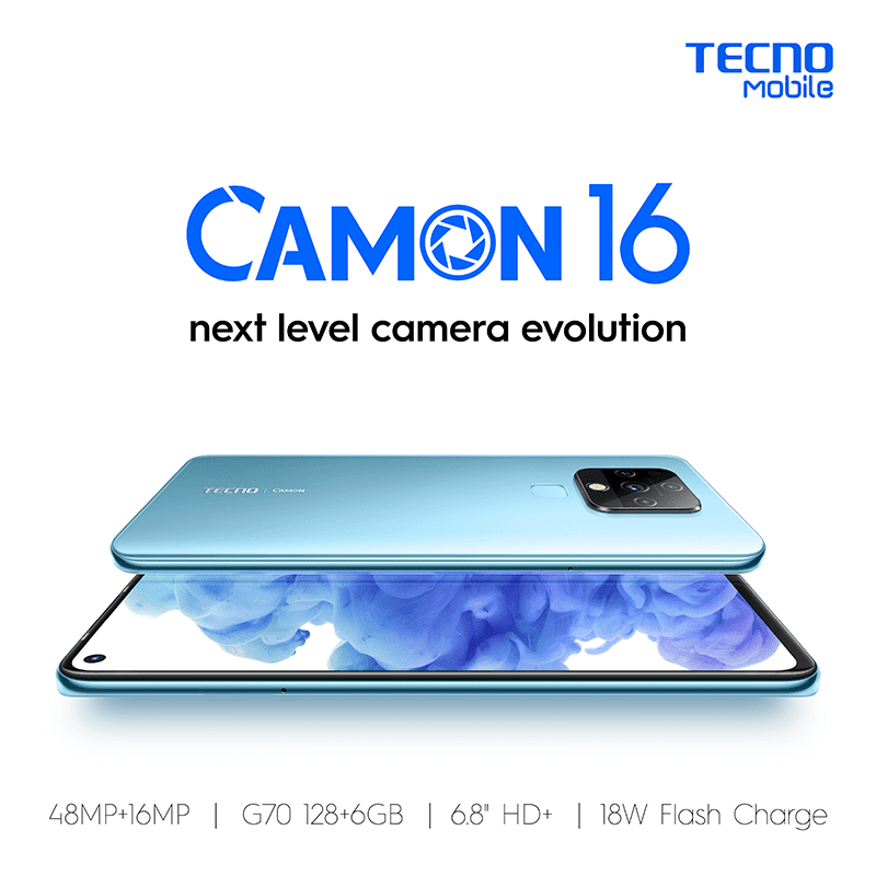 Features of TECNO Camon 16