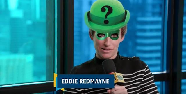 Eddie Redmayne revela que gostaria de interpretar o vilão Charada no cinema | Ordem da Fênix Brasileira