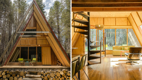 Explore Yosemite National Park In Comfort And Style In This Cozy A Frame  Cabin! With Two Bedrooms, The Home Can Comfortably Sleep Up To Four People.