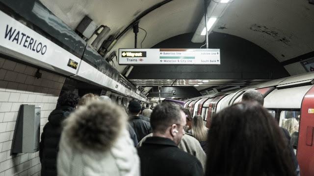 Photo by Mikel Parera on Unsplash London Tube platform