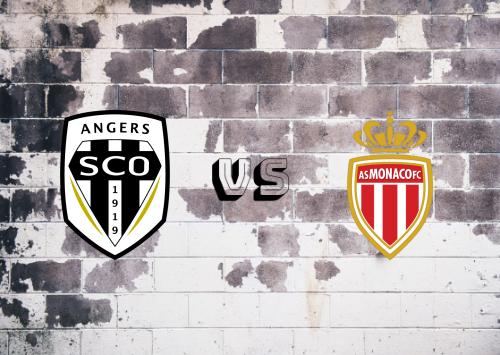 Angers vs AS Monaco  Resumen