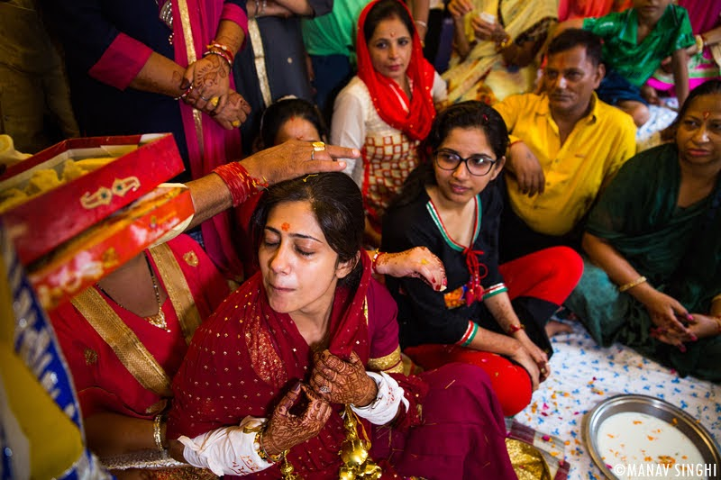 Deepika + Anuj = Candid Wedding Photography - Jaipur.