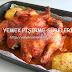 fırında sebzeli tavuk kızartma süresi