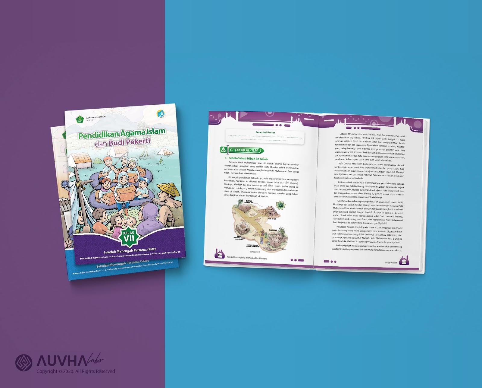 Buku Pendidikan Agama Islam dan Budi Pekerti Kemenag RI