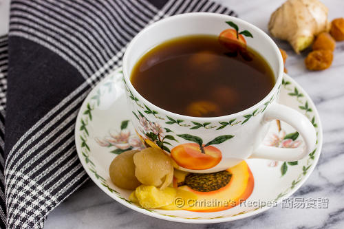 黑糖桂圓薑茶 Brown Sugar Ginger Tea02