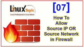 how to allow source ip or source network in firewall, allow source in firewall