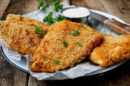 Crispy Keto 'Fried' Chicken