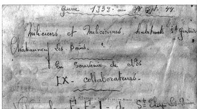 F.F.I de saint Eloy-les-Mines septembre 1944.