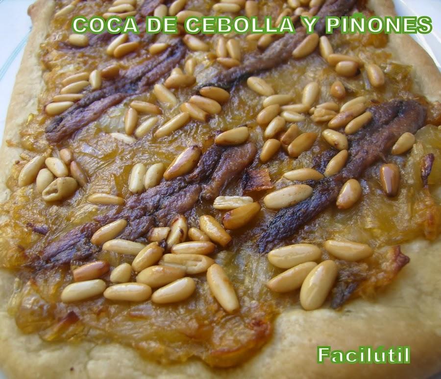 coca-de-cebolla-y-piñones