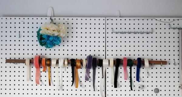 Acute Designs Diy Ribbon Organizer