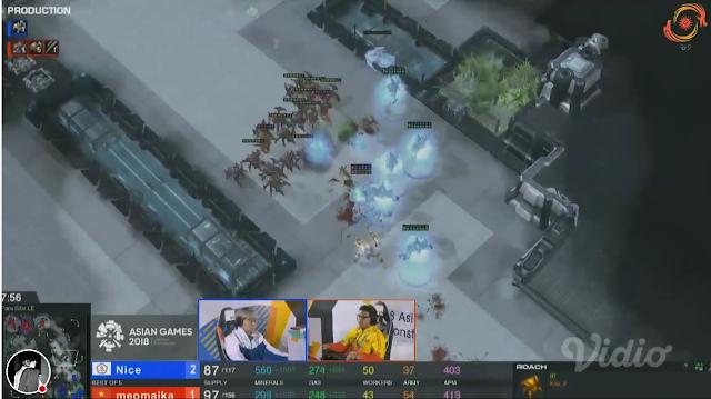 StarCraft II Asian Games 2018 Nice Taiwan MeomaikA Vietnam Protoss Zerg violence eSports