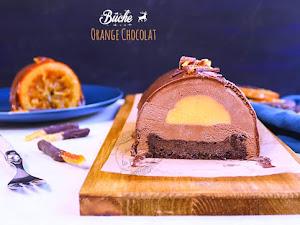 Bûche de Noël Orange Chocolat