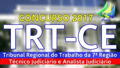 concurso TRE-CE 2017