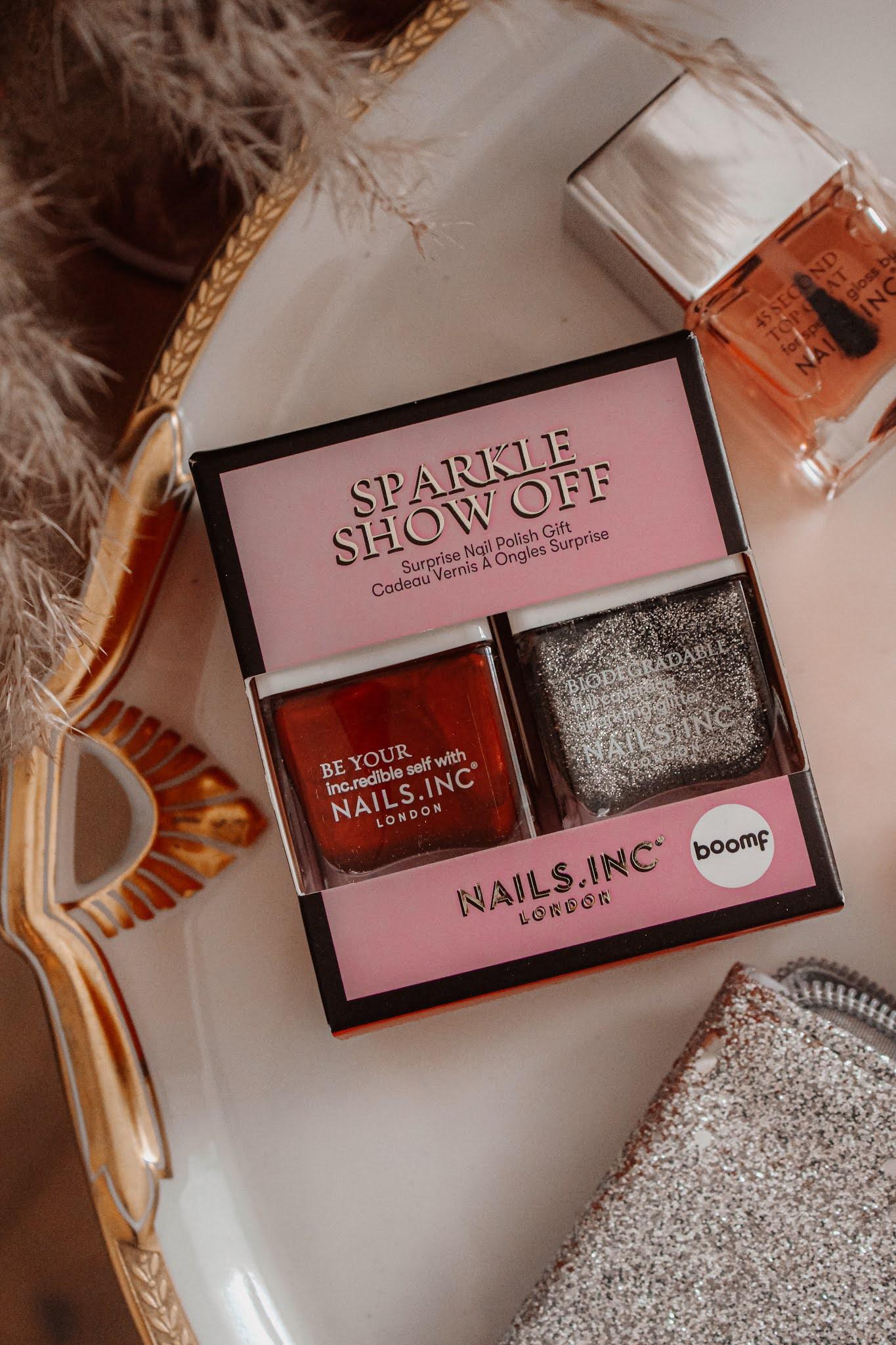 Nails Inc Sparkle Show Off Gift Set