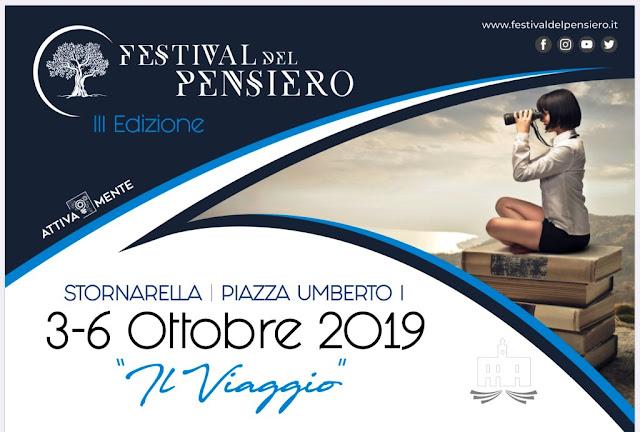"""A Stornarella la III edizione del """"Festival del Pensiero"""""""