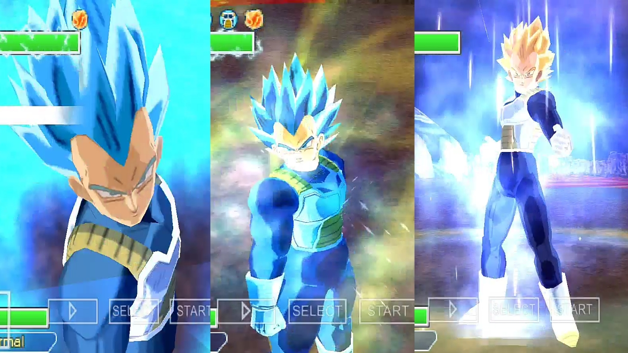 Vegeta New Transformation SSB Evolution