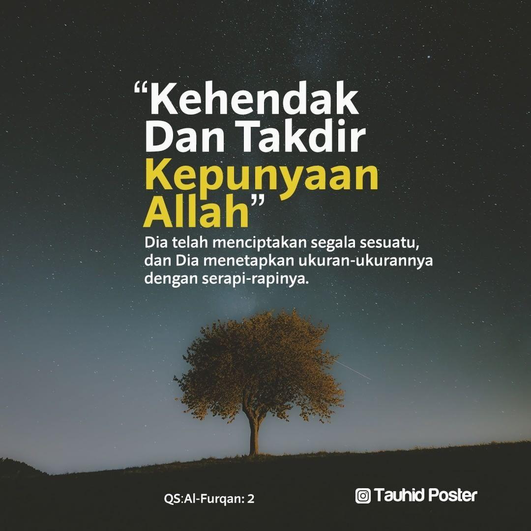 Jawapan Allah Bila Kita Menyesali Takdir