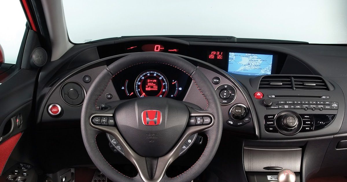 Weirdest Car Honda Civic Type R 2010 Interior