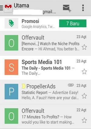 cara mengirim emai di gmail
