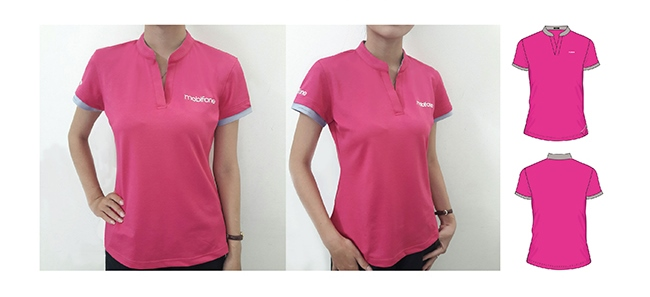Mẫu đồng phục áo thun Mobifone số 2