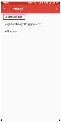 Cara Mengganti Opsi Swipe Pada Aplikasi Gmail menjadi Swipe untuk Hapus