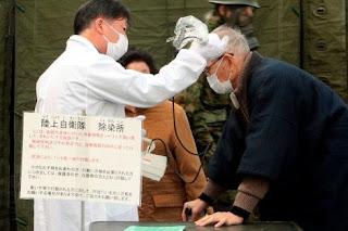 Contaminación radioactiva tras terremoto en Japón