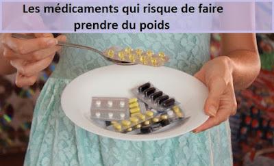 Les médicaments qui risque de faire prendre du poids