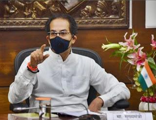 महाराष्ट्र के सीएम उद्धव ठाकरे 'कोविद -19 स्पाइक' के विकल्प के रूप में लॉकडाउन देखते हैं