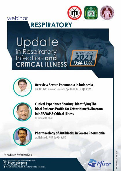 "Free SKP IDI Webinar ""Update in Respiratory Infection and Critical Illness"""