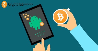 CryptoTab Browser - Menambang Bitcoin Gratis Di Android Tanpa Modal No Depo