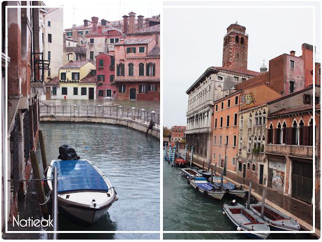 Les barques de Venise