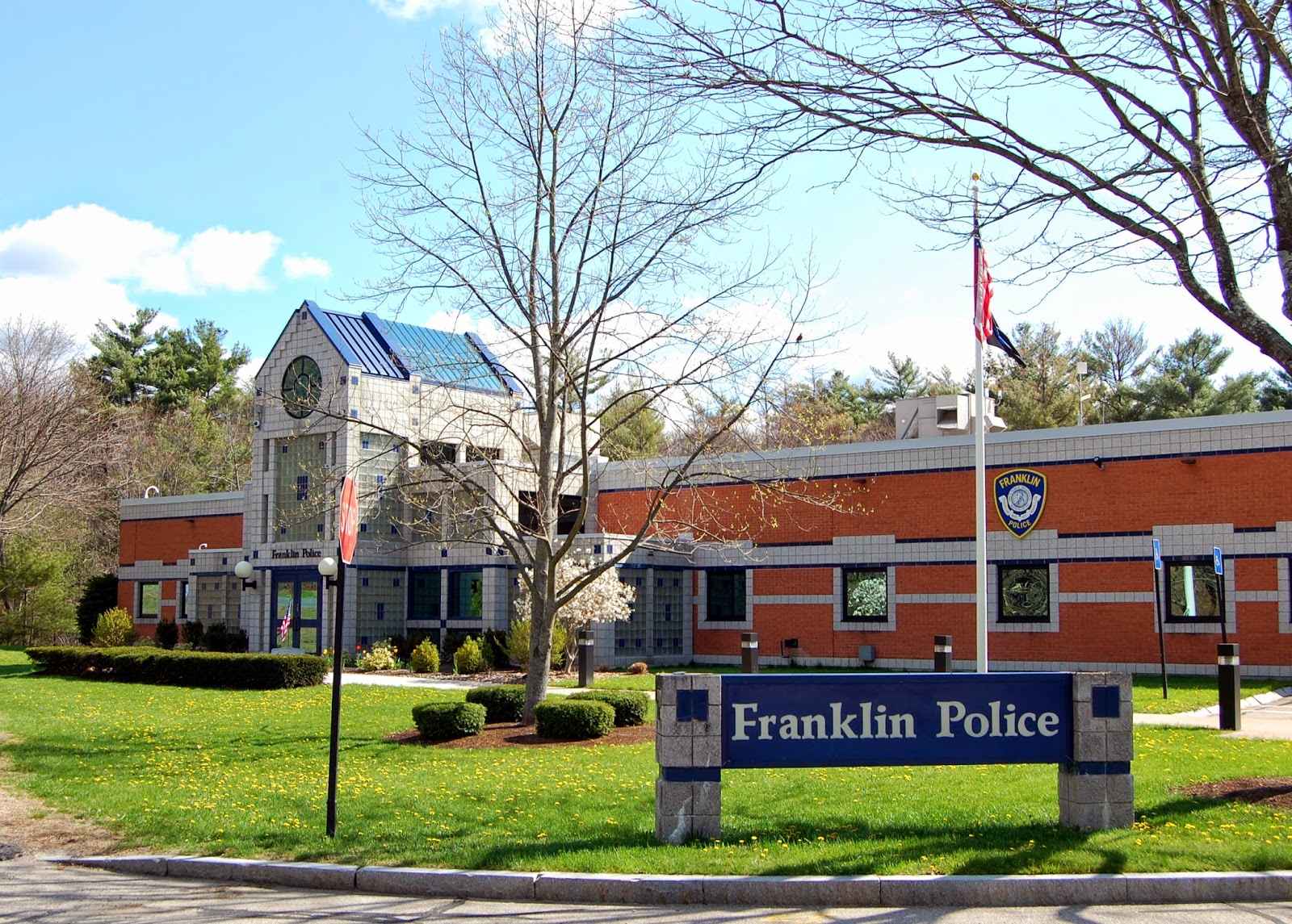 Franklin Police station on Panther Way