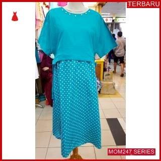 MOM247D14 Dress Hamil Menyusui Onde Pita Dresshamil Ibu Hamil