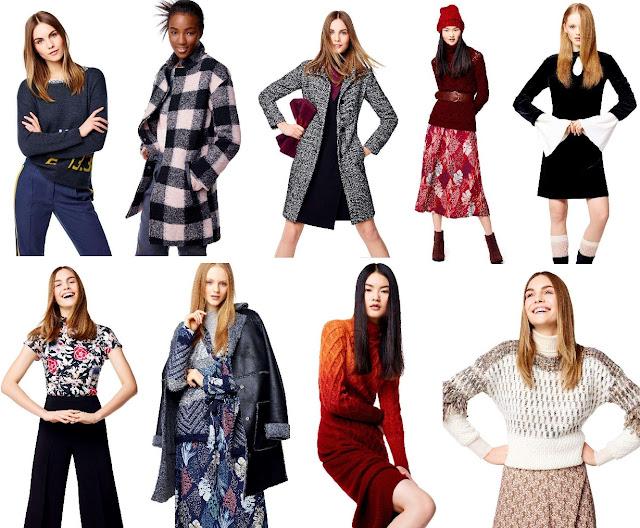 moda donna benetton autunno-inverno 2016-17
