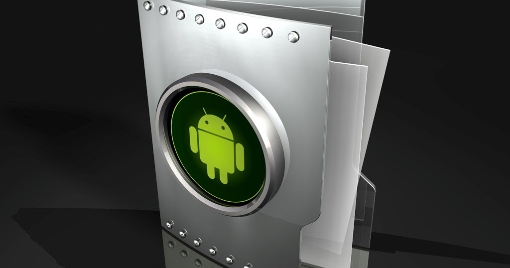 how to make folder on andriod