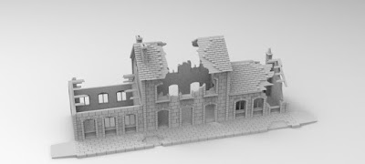 £1500 STRETCH GOAL RAILWAY STATION picture 2