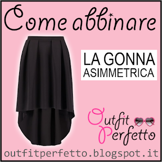 Come abbinare una gonna asimmetrica