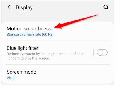 كيفية تفعيل خاصية 120 هرتز على هواتف Samsung Galaxy S20