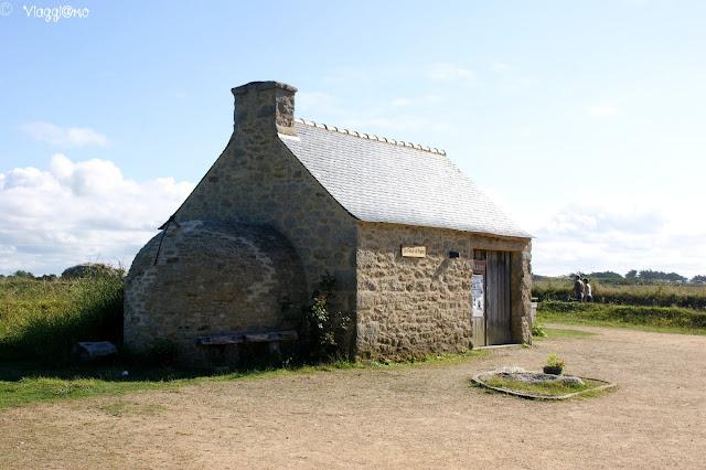 Uno degli edifici tipici presenti nel villaggio di Meneham