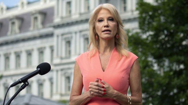 Kellyanne Conway resigns as senior White House adviser